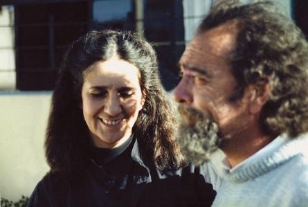 Evelia Peralta y Rolando Moya
