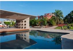Yadhira Álvarez, Natalia Corral, MCM+A taller de arquitectura. Parque central del Coca. Puerto Francisco de Orellana, El Coca 002