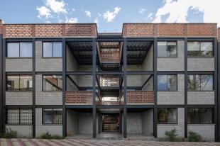 1 ERDC arquitectos. Arq. Pablo Puente, Arq. Fernanda Esquetini, Arq. Claudia Ponce, Arq. Javier Mera, Arq. Michelle Saud. San Telmo Apartamentos. Quito-Ecuador. 2017.