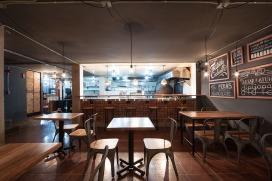 9 ERDC arquitectos. Arq. Pablo Puente, Arq. Fernanda Esquetini, Arq. Claudia Ponce, Arq. Juan Carlos Ubidia, Arq. Javier Mera. URKO Restaurante. Quito-Ecuador. 2015.